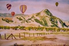 Balloons with El Toro